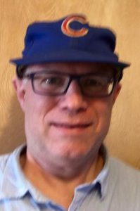Me and my Cubs cap from 1969.